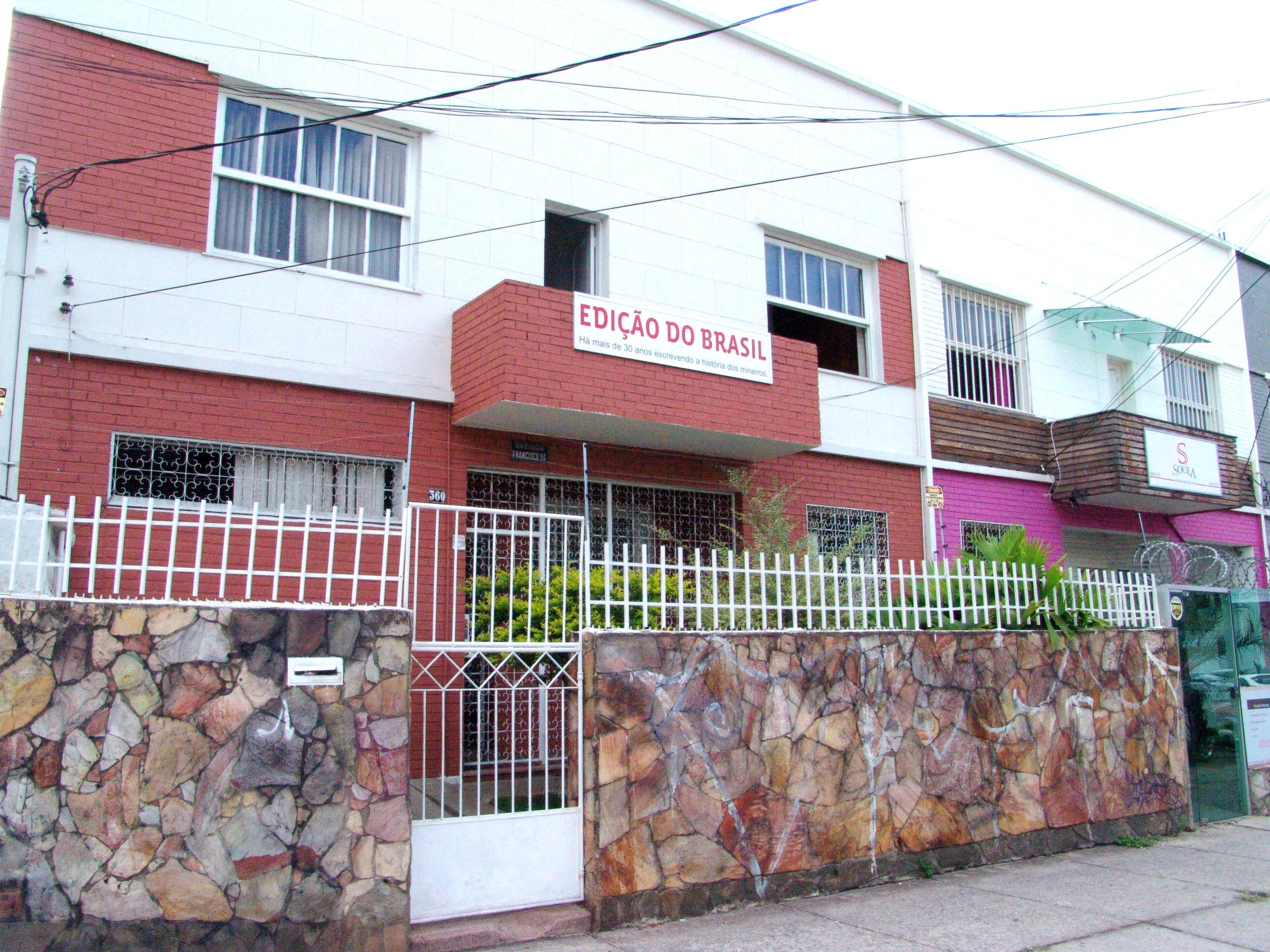 Sede do jornal fica no Prado, um dos mais tradicionais bairros de Belo Horizonte